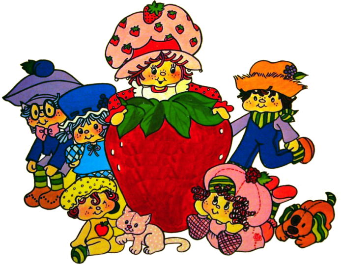 Charlotte aux Fraises (divers) - Page 3 Strawberry-Shortcake-Sweet-Songs_ded