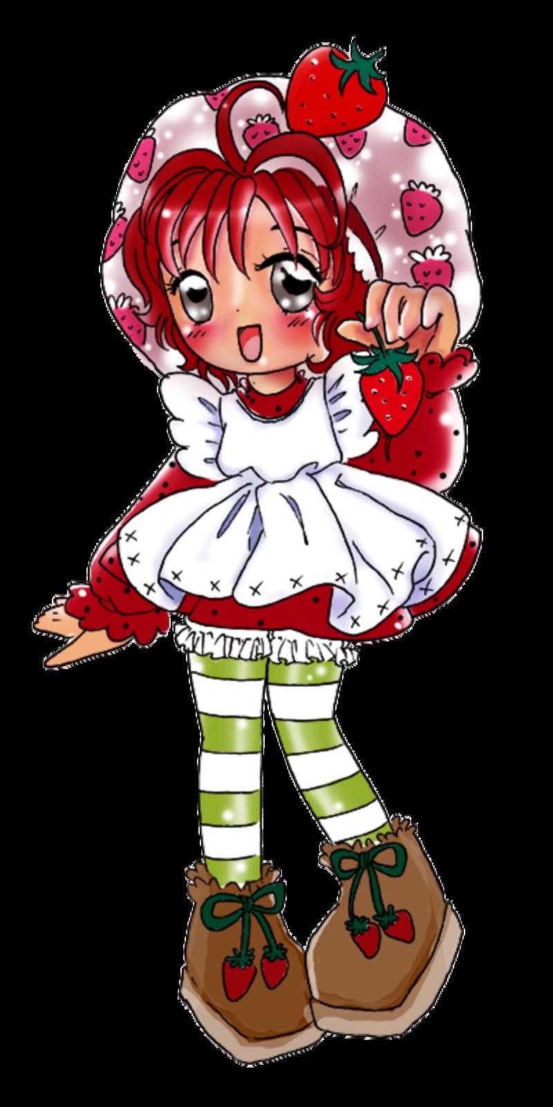 Charlotte aux Fraises (divers) - Page 2 Strawberry_Shortcake_anime_ded