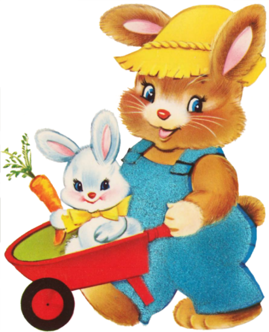 Paques lapins - Image lapin de paques ...